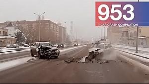 Car crash compilation 953 - February 2018