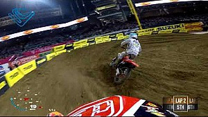Shane Mcelrath main event 2018 Monster Energy Supercross from San Diego