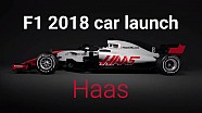 F1 2018 Car Launches: Haas