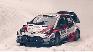 Rallye de Suède 2018 - Jour 1 - Toyota