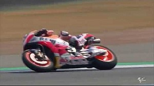 First images of Márquez and Pedrosa riding at the Buriram circuit