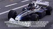 Decoraciones curiosas de coches en test de F1 LAT