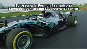 F1 2018 - Mercedes W09 lansmanı