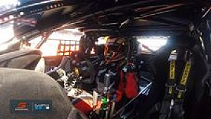 James Courtney on-board Adelaide