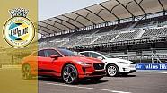 Jaguar I-Pace v Tesla Model X drag race