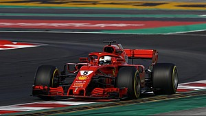 Resumen penúltima jornada test F1 2018 ESP