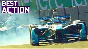 Best crashes, spins, slides and saves! | 2018 Mexico City E-Prix