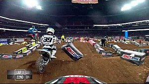 Cole Martinez main event #1 2018 Monster Energy Supercross from Atlanta