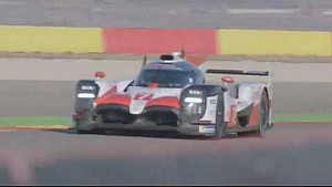 2018-19 Toyota TS050 Hybrid  in action