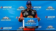 Martin Truex Jr. wins Busch Pole Award at Auto Club Speedway