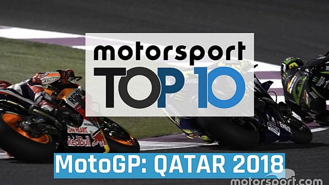MotoGP Top 10 momentos GP de Qatar MotoGP 2018 ESP