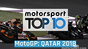 Top 10 momentos GP de Qatar MotoGP 2018 ESP