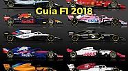 Motorsport Shorts: guía de pilotos y equipos para la temporada 2018 de Fórmula 1 lat
