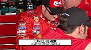 Daniel Hemric overwhelmed, proud to bring back No. 8 in debut