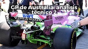 GP de Australia de F1: análisis técnico, segunda parte ESP