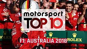 Top 10 Australian GP moments