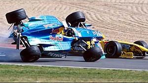 Kecelakaan Pedro Diniz | GP Eropa 1999