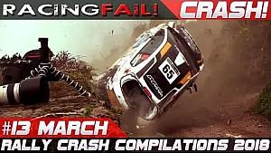 Recopilación de choques de Rally 13 de marzo de 2018