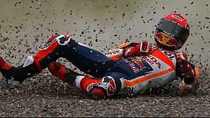 Marc Marquez terjatuh saat memimpin | MotoGP Argentina 2017