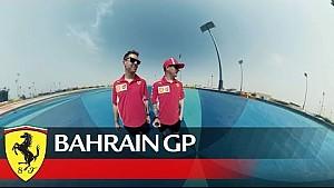 Gran Premio de Bahrein: vida sobre el bordillo