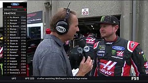 2018 Texas I - Kurt Busch leads first practice