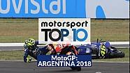 Top10 MotoGP GP de Argentina Lat