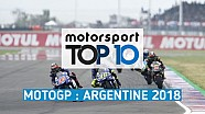 Top 10 - Grand Prix d'Argentine
