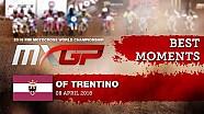 Los mejores momentos del MX2 en Trentino 2018