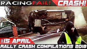 Rally crash compilation week 15 April 2018