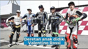 Deretan anak didik Valentino Rossi