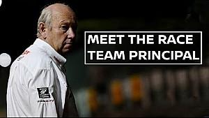Meet the race team Manager