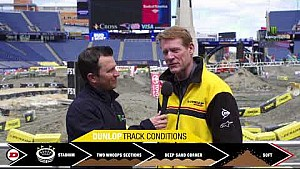Dunlop track conditions report - Foxborough, MA