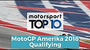 Top 10 Highlights Qualifying | MotoGP Amerika 2018