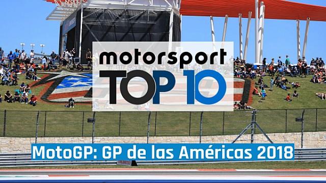 MotoGP El top 10 de momentos del GP de las Américas