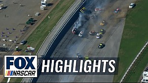 The Big One strikes at Talladega