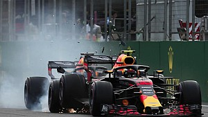 L'incidente delle Red Bull a Baku