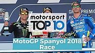 Top 10 Highlights Race | MotoGP Spanyol 2018