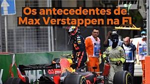 VÍDEO: Os antecedentes de Max Verstappen na F1