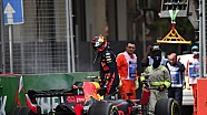 Gli incidenti di Max Verstappen in F1