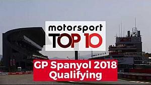 Top 10 Highlights Kualifikasi | GP Spanyol 2018