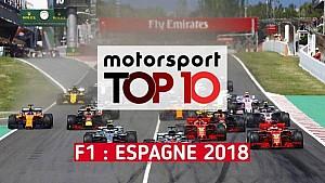 Top 10 - Grand Prix d'Espagne