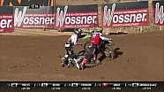 Accidente de Thomas Covington y Jed Beaton - MXGP de Letonia