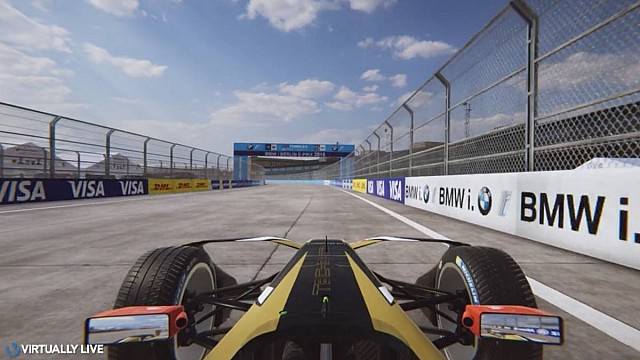 Berlin ePrix Virtual Lap - @virtuallylive