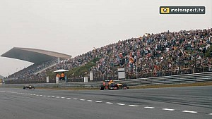Red Bull demo runs at Zandvoort