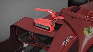 Ferrari'nin Monaco'ya getirdiği halo aynaları