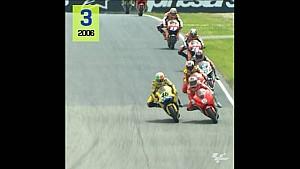 Les victoires de Valentino Rossi au Mugello
