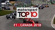 Top 10 - Grand Prix du Canada