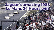 Jaguar's epic 1988 Le Mans 24 Hours win