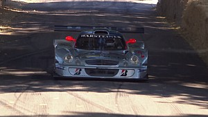 Mercedes-Benz CLK LM makes Goodwood demo run